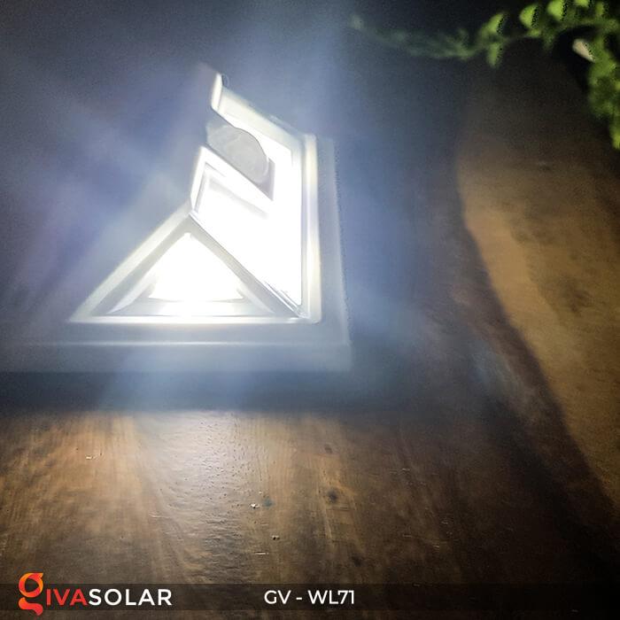 Đèn năng lượng mặt trời chiếu tường, cầu thang WL71 10
