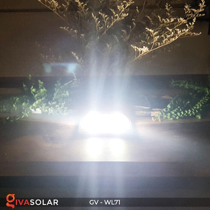Đèn năng lượng mặt trời chiếu tường, cầu thang WL71 14