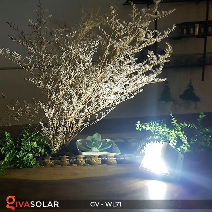 Đèn năng lượng mặt trời chiếu tường, cầu thang WL71 15