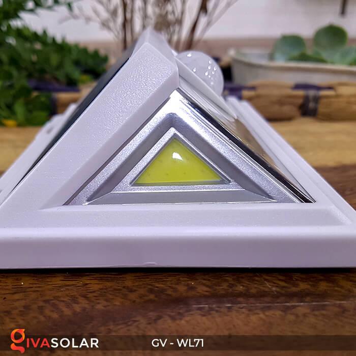 Đèn năng lượng mặt trời chiếu tường, cầu thang WL71 16