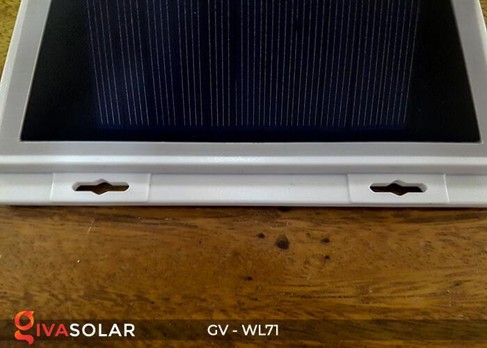 Đèn năng lượng mặt trời chiếu tường, cầu thang WL71 18