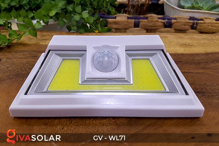 Đèn năng lượng mặt trời chiếu tường, cầu thang WL71 2