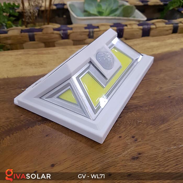 Đèn năng lượng mặt trời chiếu tường, cầu thang WL71 3