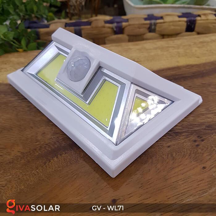 Đèn năng lượng mặt trời chiếu tường, cầu thang WL71 4