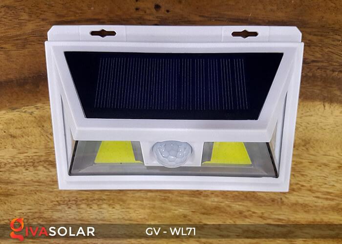 Đèn năng lượng mặt trời chiếu tường, cầu thang WL71 5