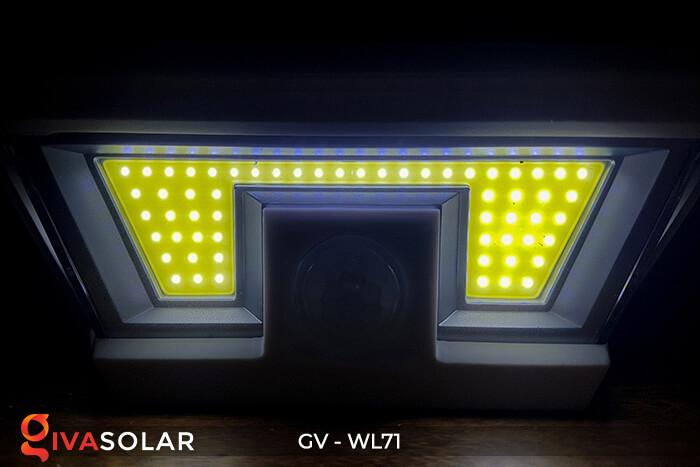 Đèn năng lượng mặt trời chiếu tường, cầu thang WL71 7