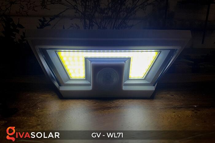 Đèn năng lượng mặt trời chiếu tường, cầu thang WL71 8