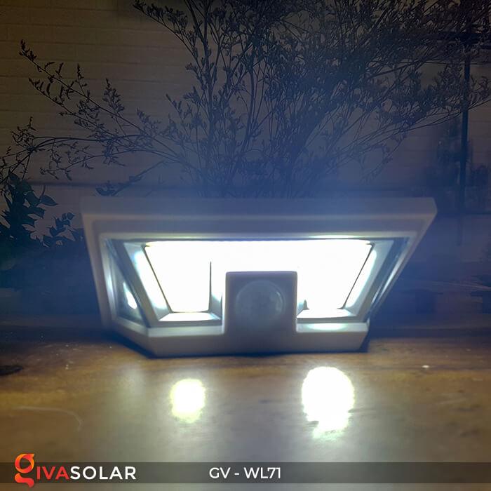 Đèn năng lượng mặt trời chiếu tường, cầu thang WL71 9