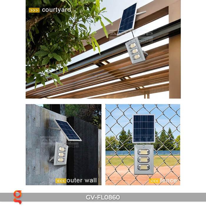 Đèn pha LED năng lượng mặt trời FL0860 25