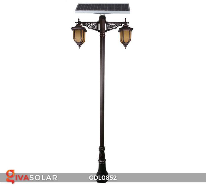 Đèn trụ sân vườn năng lượng mặt trời GDL0852 1