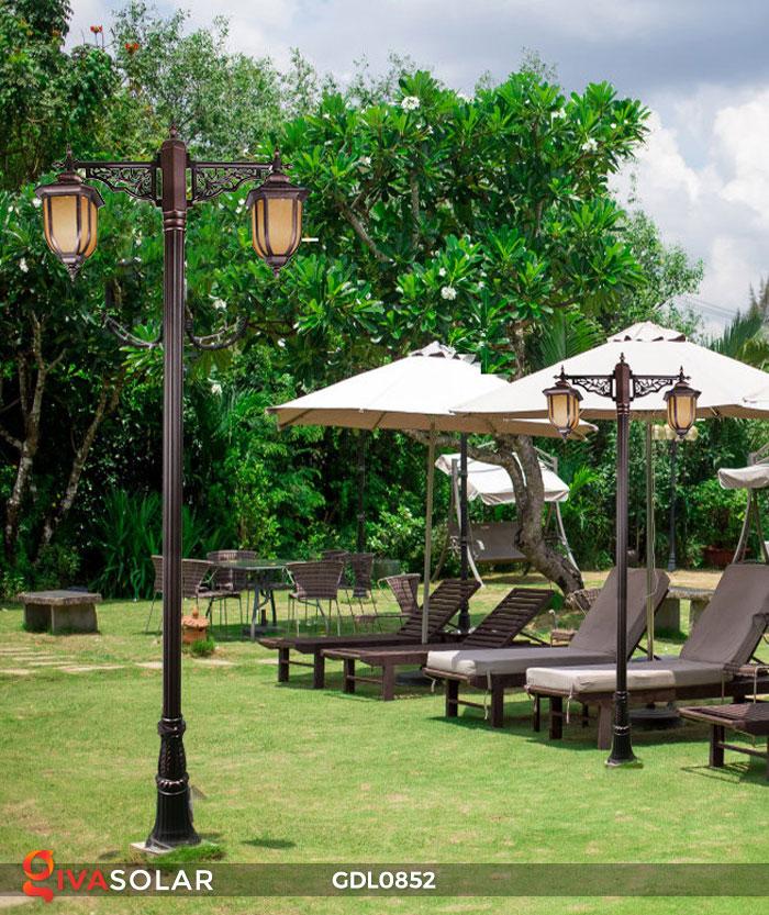Đèn trụ sân vườn năng lượng mặt trời GDL0852 2