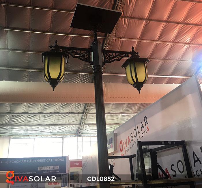 Đèn trụ sân vườn năng lượng mặt trời GDL0852 3