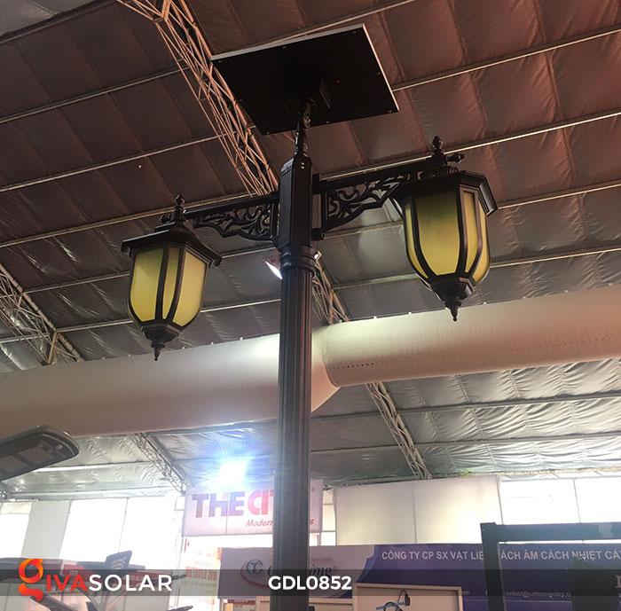 Đèn trụ sân vườn năng lượng mặt trời GDL0852 4
