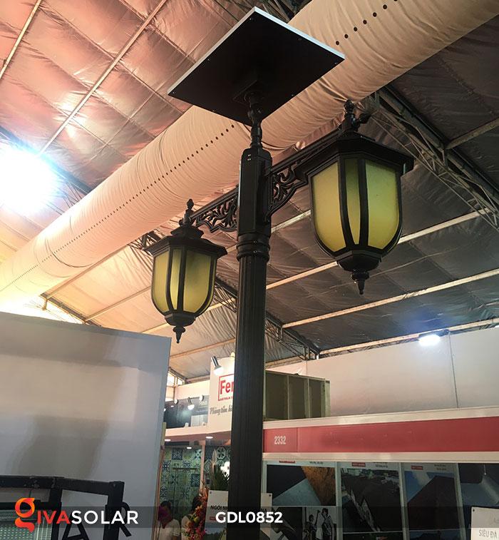 Đèn trụ sân vườn năng lượng mặt trời GDL0852 5