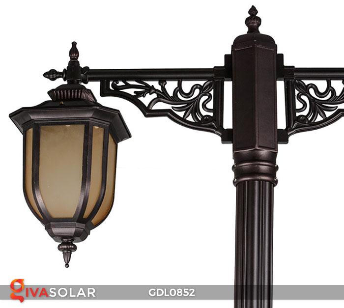 Đèn trụ sân vườn năng lượng mặt trời GDL0852 7