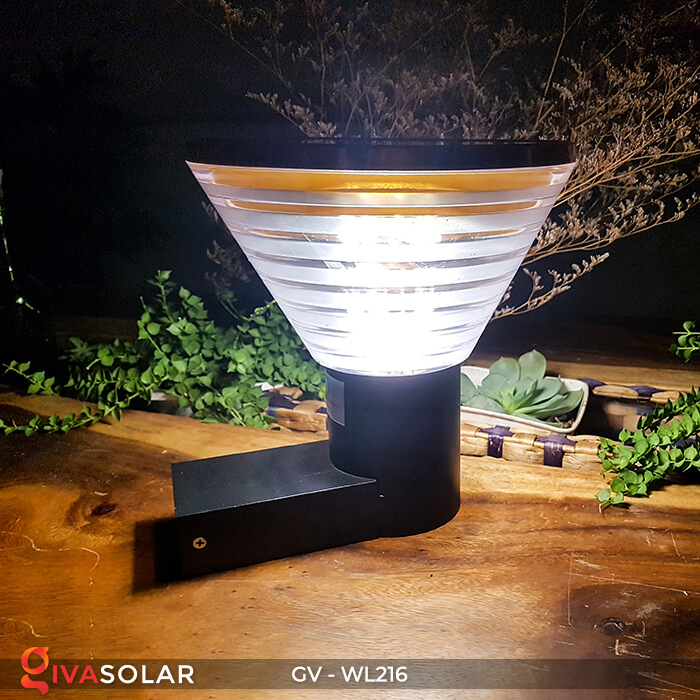 Đèn treo tường năng lượng mặt trời WL216 1