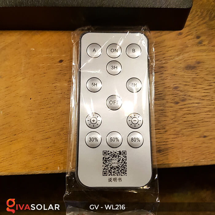 Đèn treo tường năng lượng mặt trời WL216 14