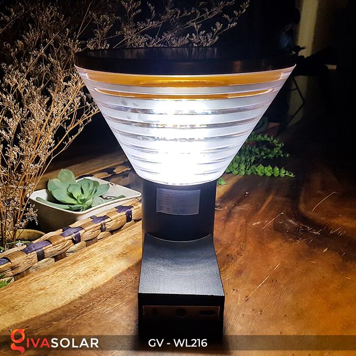 Đèn treo tường năng lượng mặt trời WL216 2