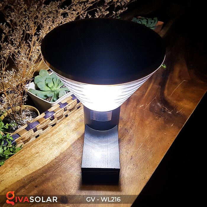 Đèn treo tường năng lượng mặt trời WL216 3