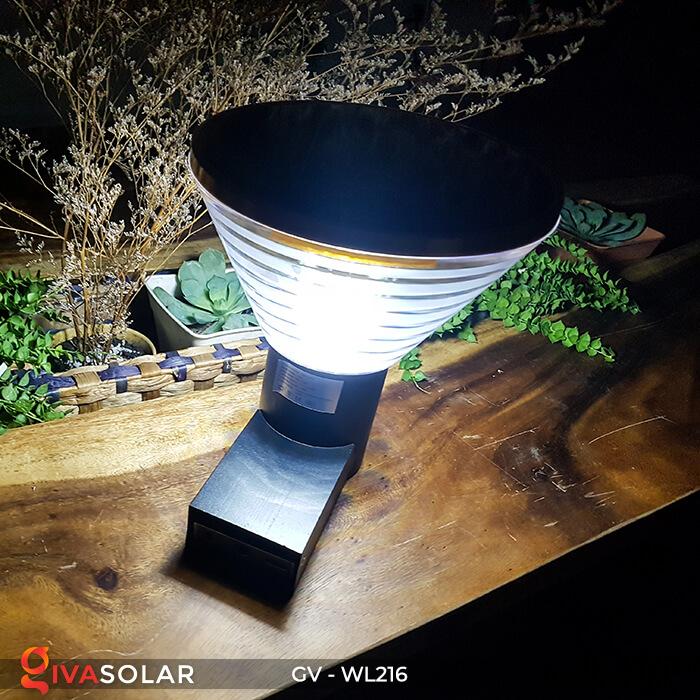 Đèn treo tường năng lượng mặt trời WL216 4