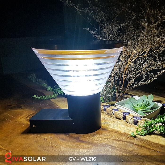 Đèn treo tường năng lượng mặt trời WL216 5