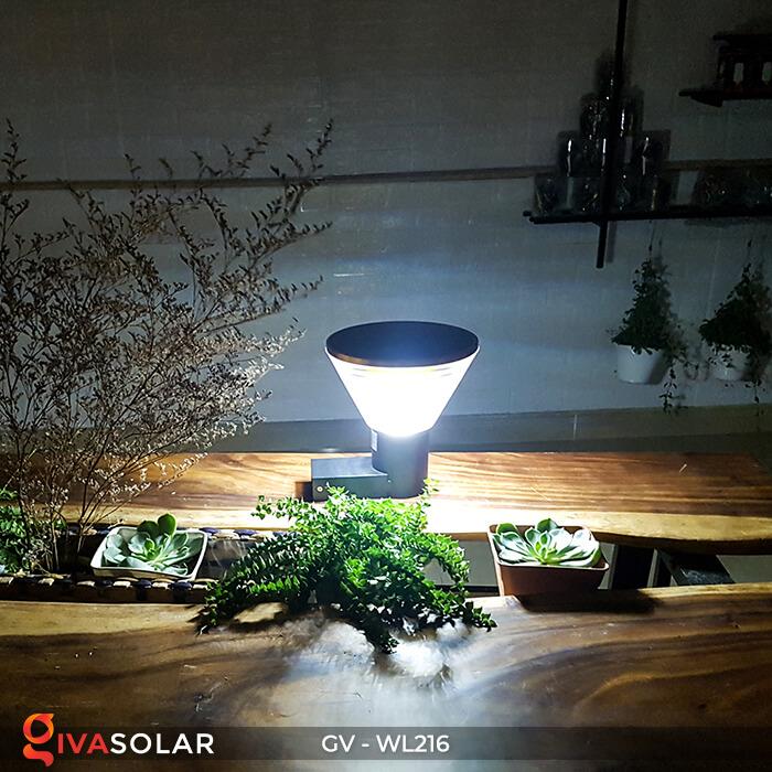 Đèn treo tường năng lượng mặt trời WL216 6