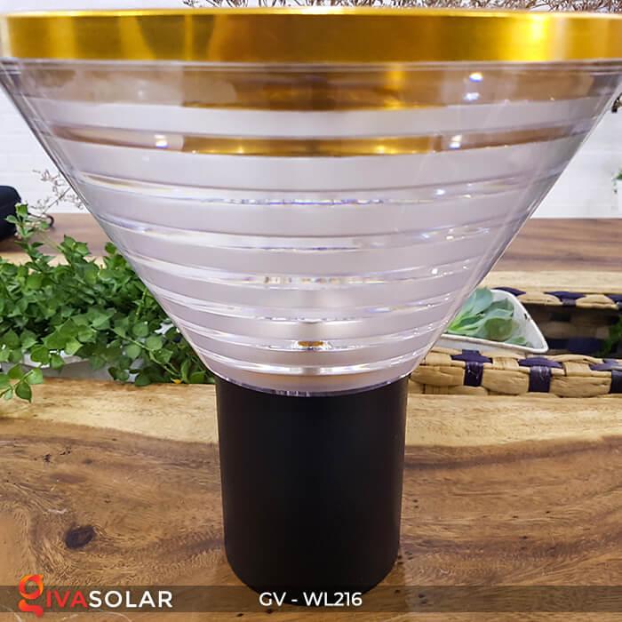 Đèn treo tường năng lượng mặt trời WL216 9