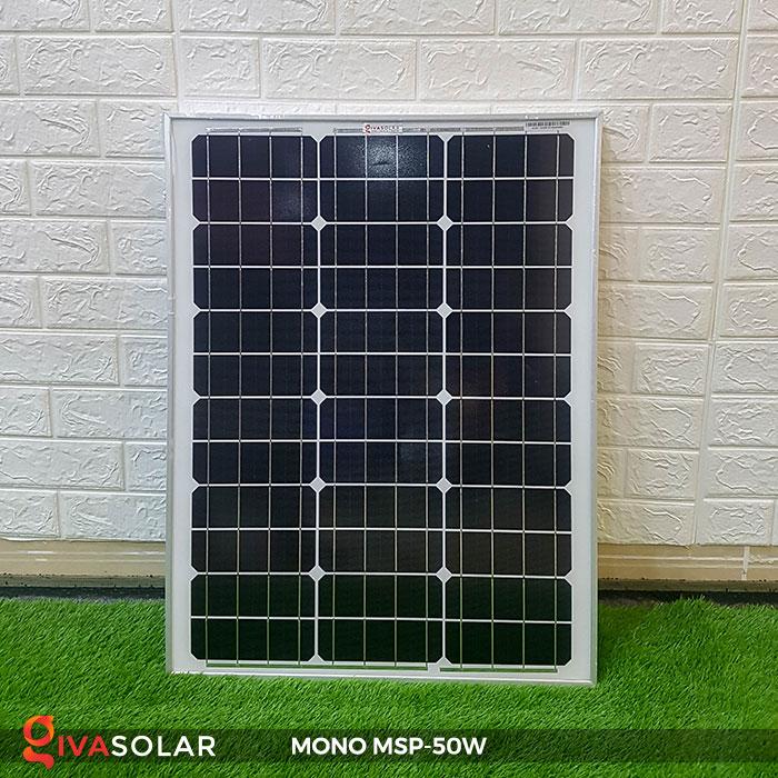 tấm pin mặt trời mini mono 50W 1