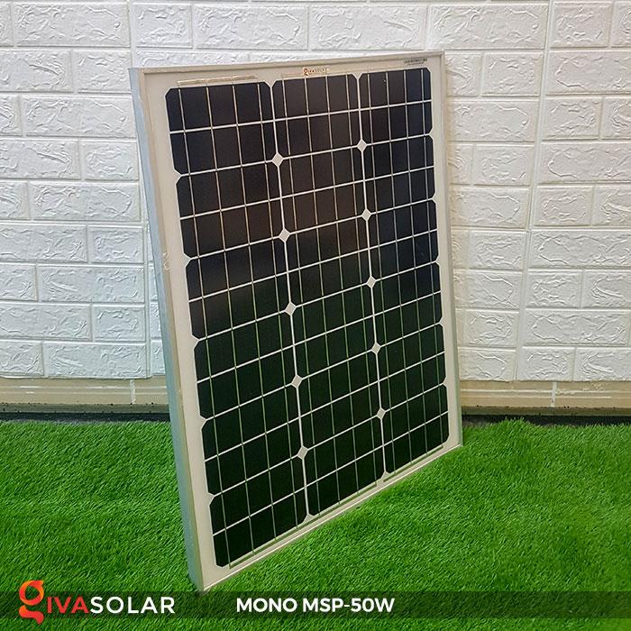 tấm pin mặt trời mini mono 50W 2