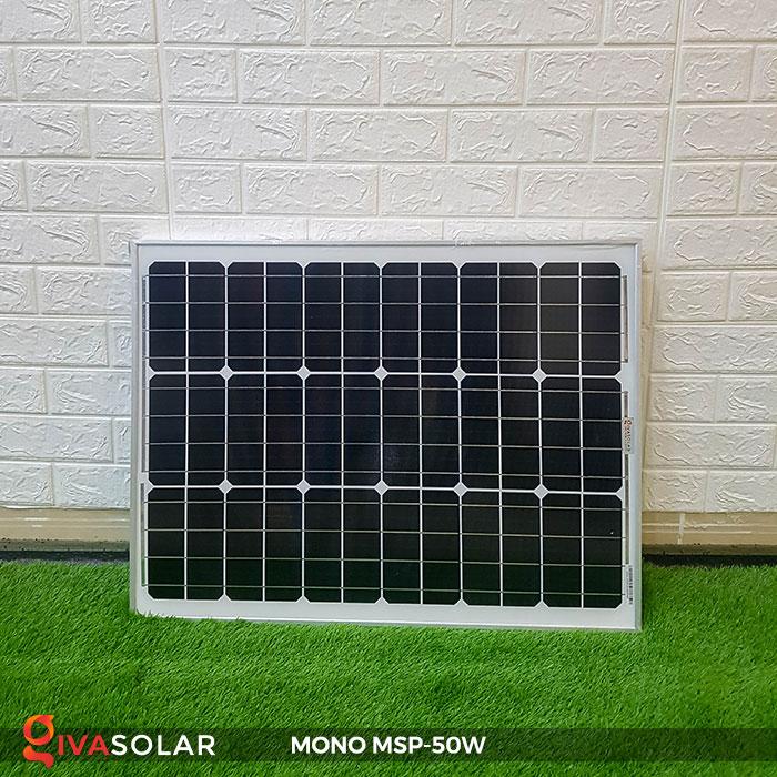 tấm pin mặt trời mini mono 50W 3
