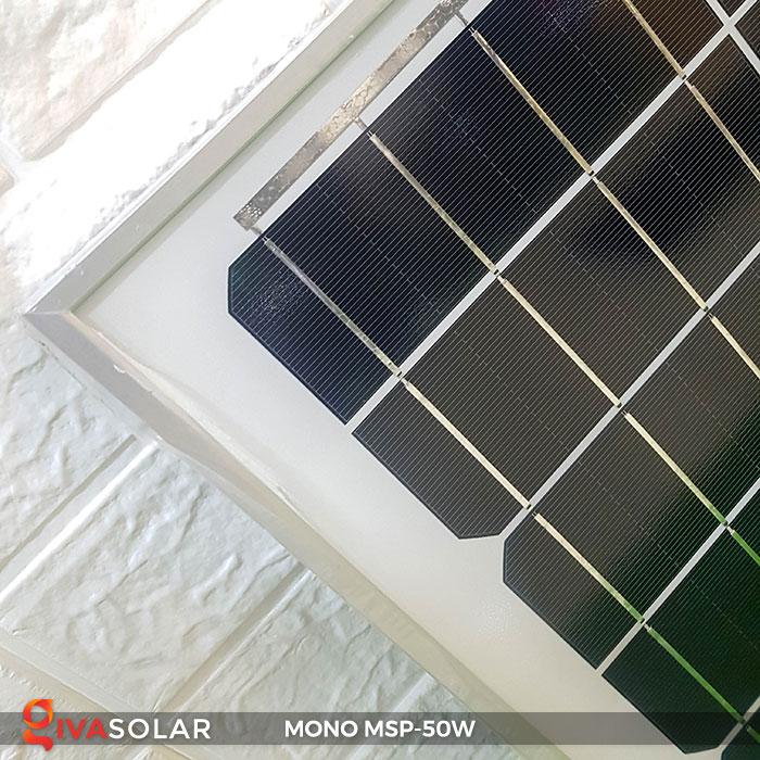 tấm pin mặt trời mini mono 50W 6