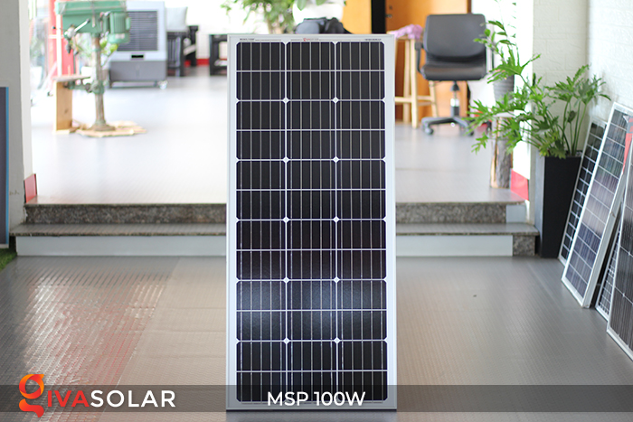 Tấm pin năng lượng mặt trời Mono 100W 1