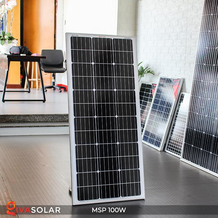 Tấm pin năng lượng mặt trời Mono 100W 3