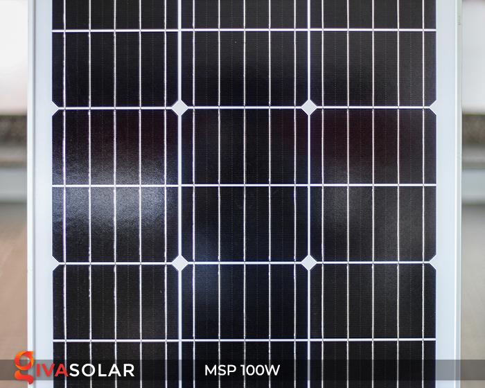 Tấm pin năng lượng mặt trời Mono 100W 6