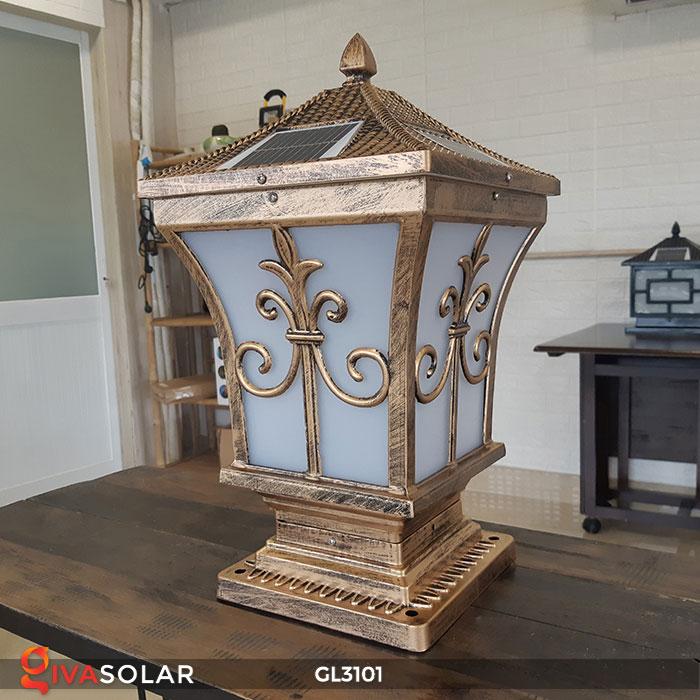 Đèn cổng dùng năng lượng mặt trời GL3101 1