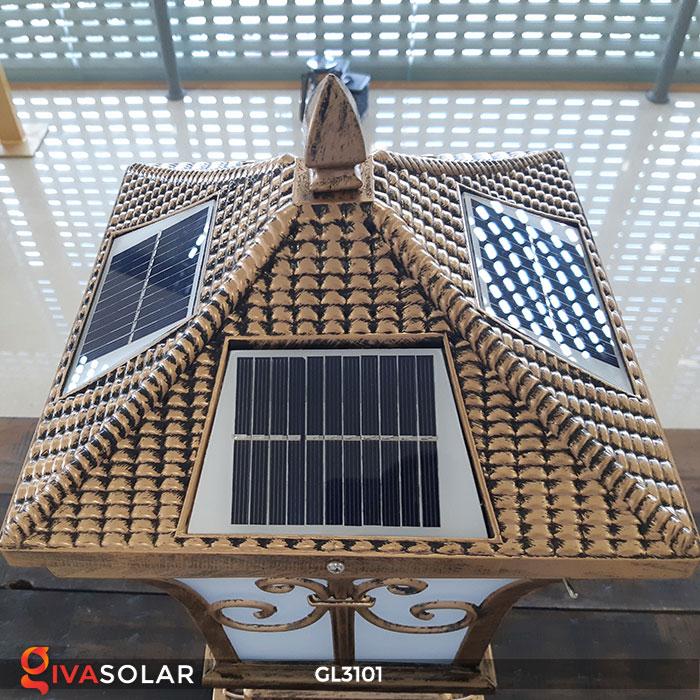 Đèn cổng dùng năng lượng mặt trời GL3101 12