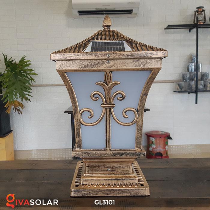 Đèn cổng dùng năng lượng mặt trời GL3101 2