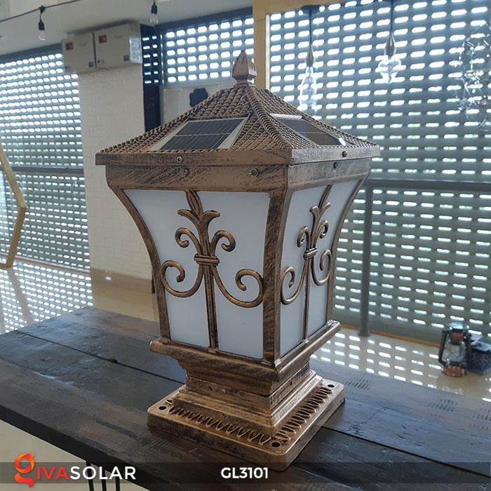 Đèn cổng dùng năng lượng mặt trời GL3101 3