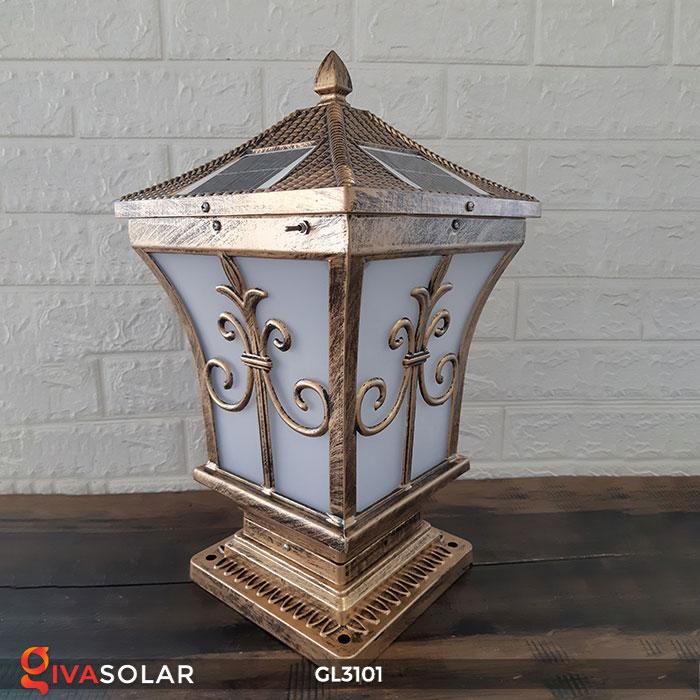 Đèn cổng dùng năng lượng mặt trời GL3101 4
