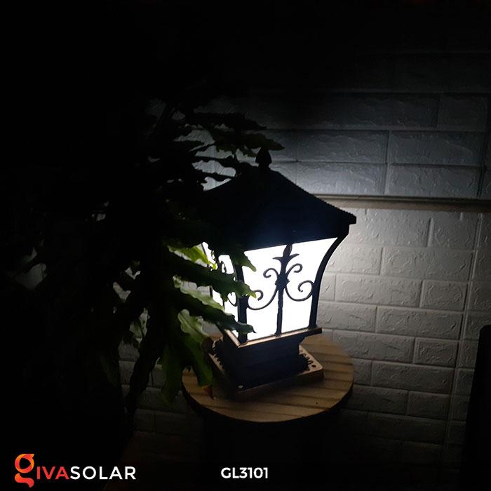 Đèn cổng dùng năng lượng mặt trời GL3101 5