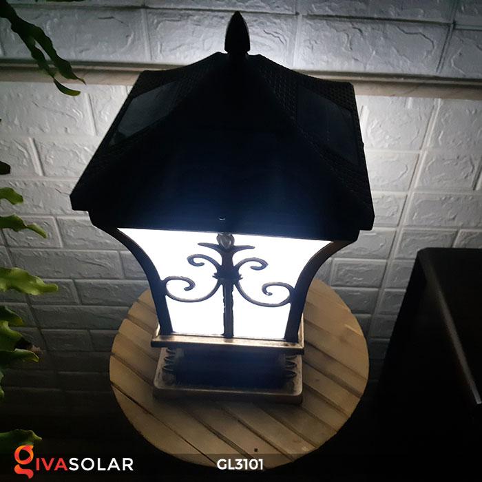 Đèn cổng dùng năng lượng mặt trời GL3101 7