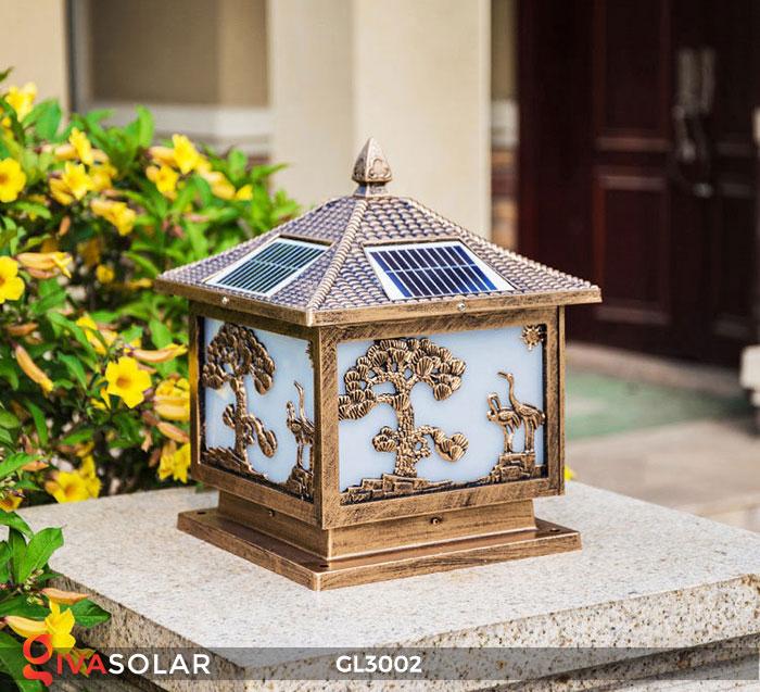 Đèn cổng sử dụng năng lượng mặt trời GL3002 1
