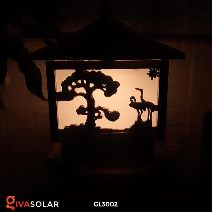 Đèn cổng sử dụng năng lượng mặt trời GL3002 12