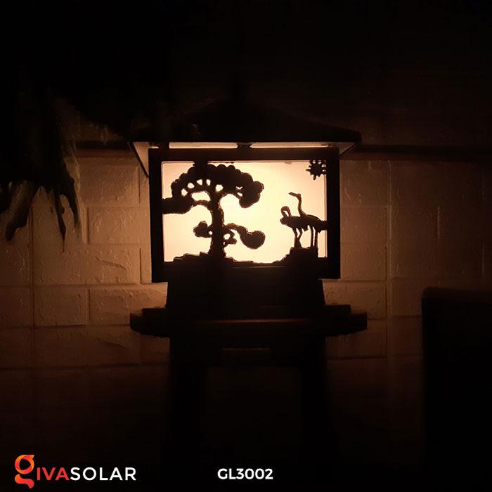Đèn cổng sử dụng năng lượng mặt trời GL3002 13