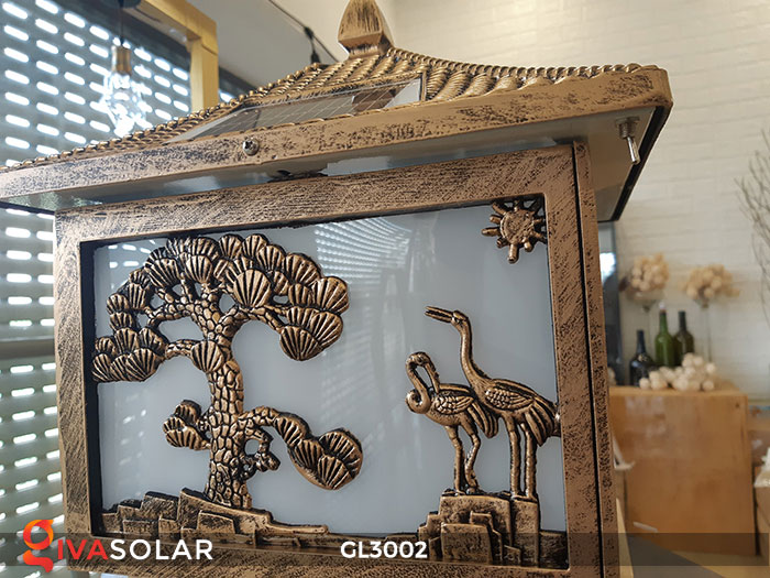 Đèn cổng sử dụng năng lượng mặt trời GL3002 16