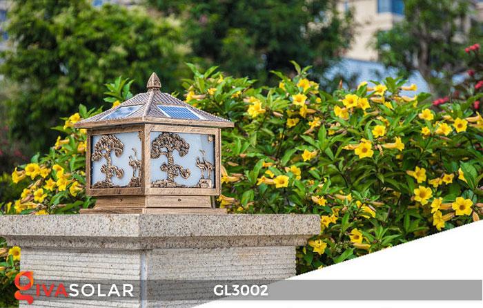 Đèn cổng sử dụng năng lượng mặt trời GL3002 2