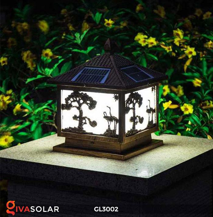 Đèn cổng sử dụng năng lượng mặt trời GL3002 4