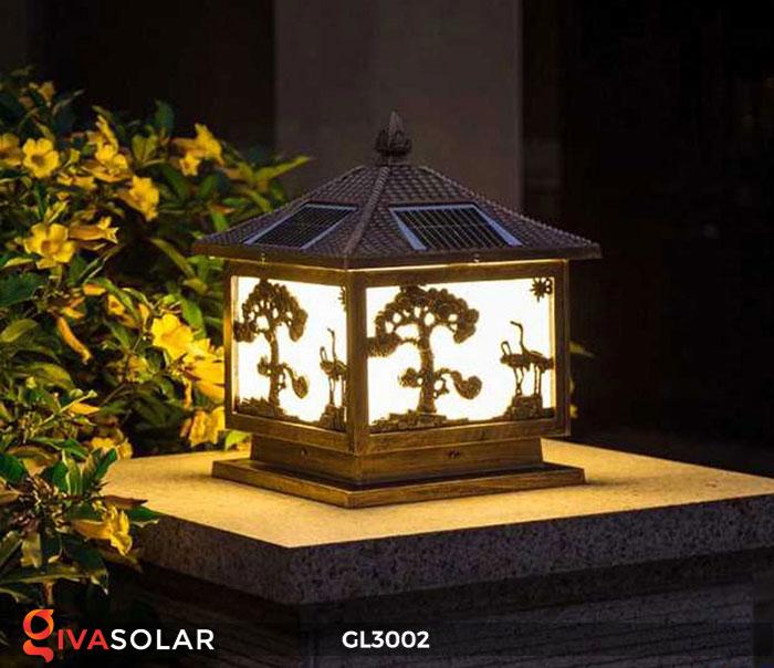 Đèn cổng sử dụng năng lượng mặt trời GL3002 5