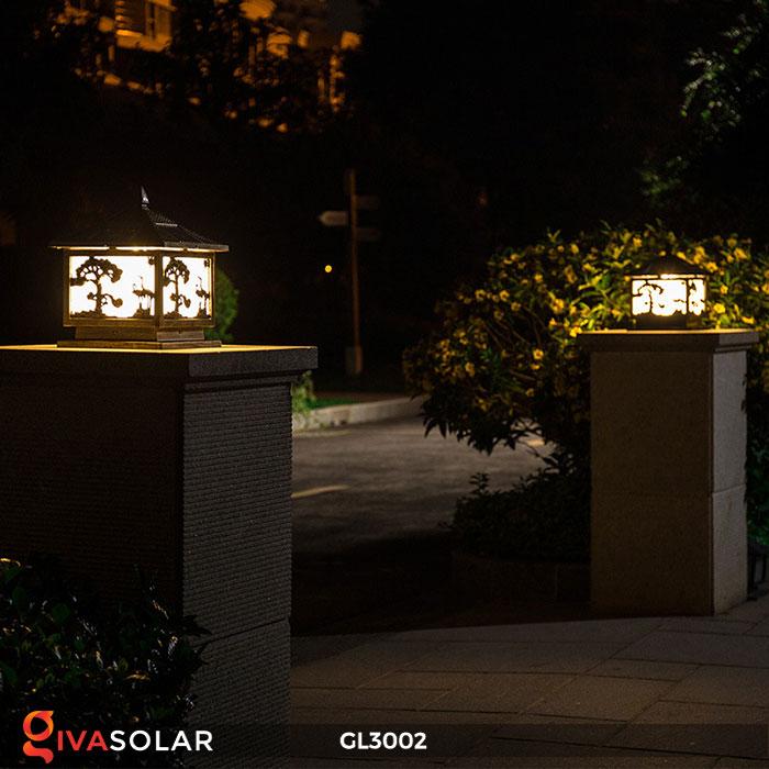 Đèn cổng sử dụng năng lượng mặt trời GL3002 6