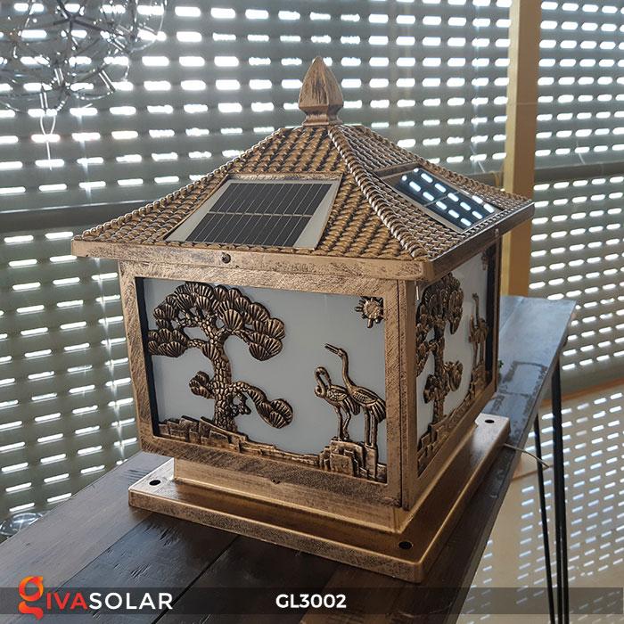 Đèn cổng sử dụng năng lượng mặt trời GL3002 7